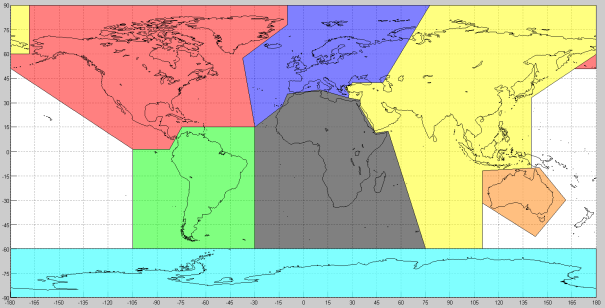 Get a continent from longitude-latitude | Before I forget